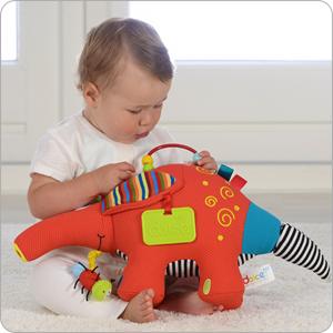 aardvark stem baby toy