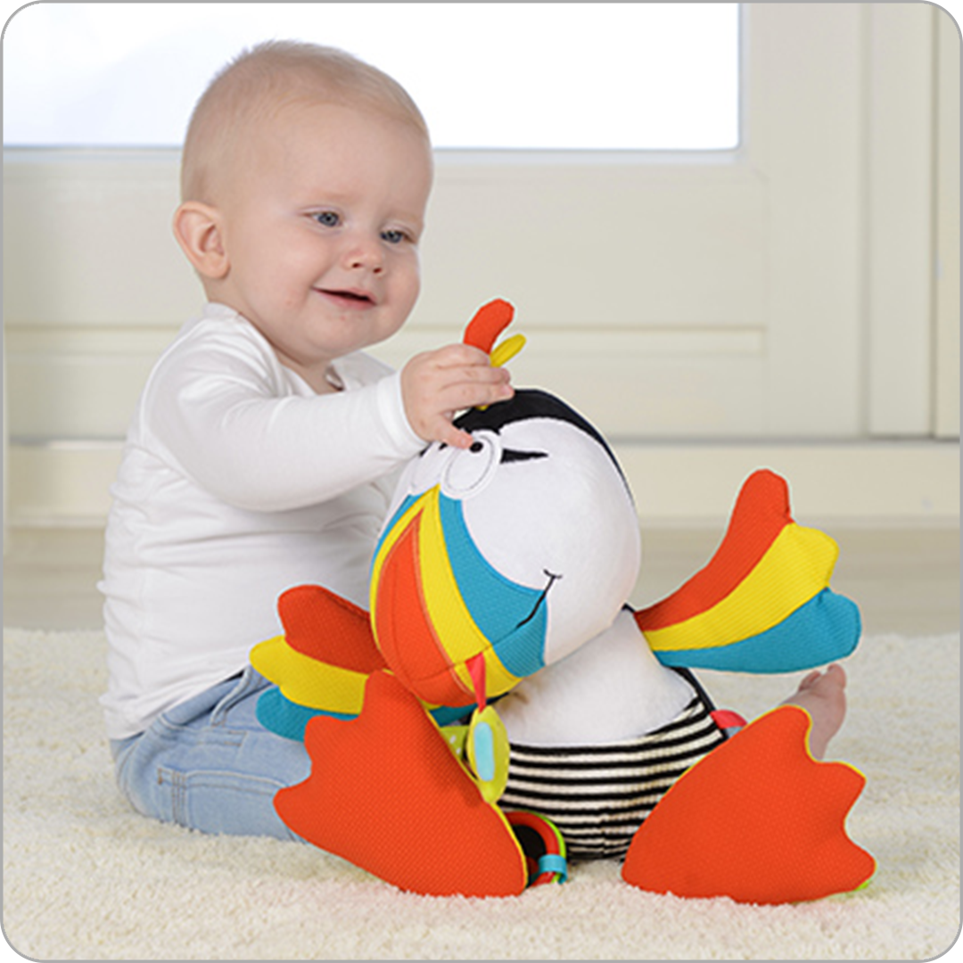 puffin stem authenticated toys